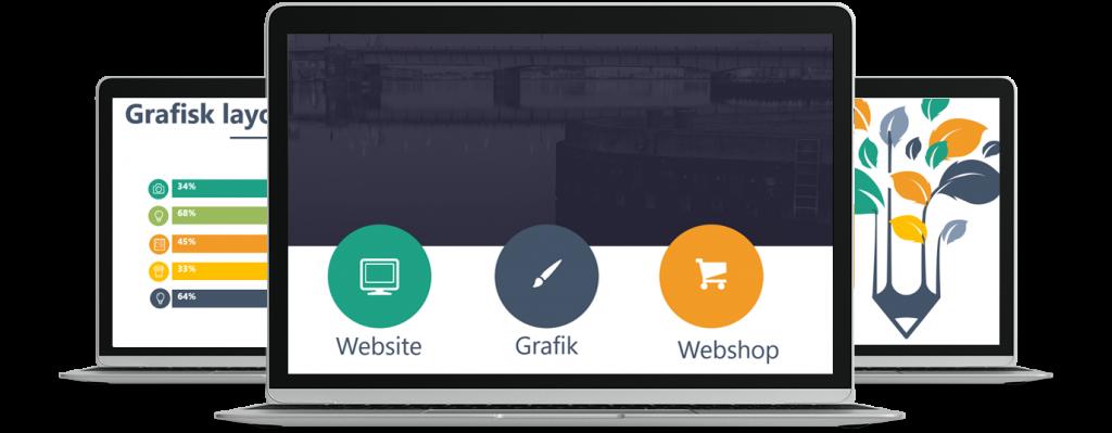 Hjemmeside design Aalborg