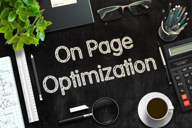 hvad er On page SEO optimering?