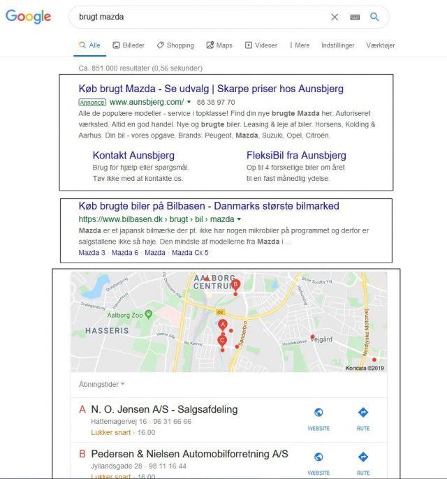 Søgemaskineoptimering Google